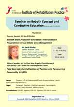 Seminar on BobathConcept and Conductive Education